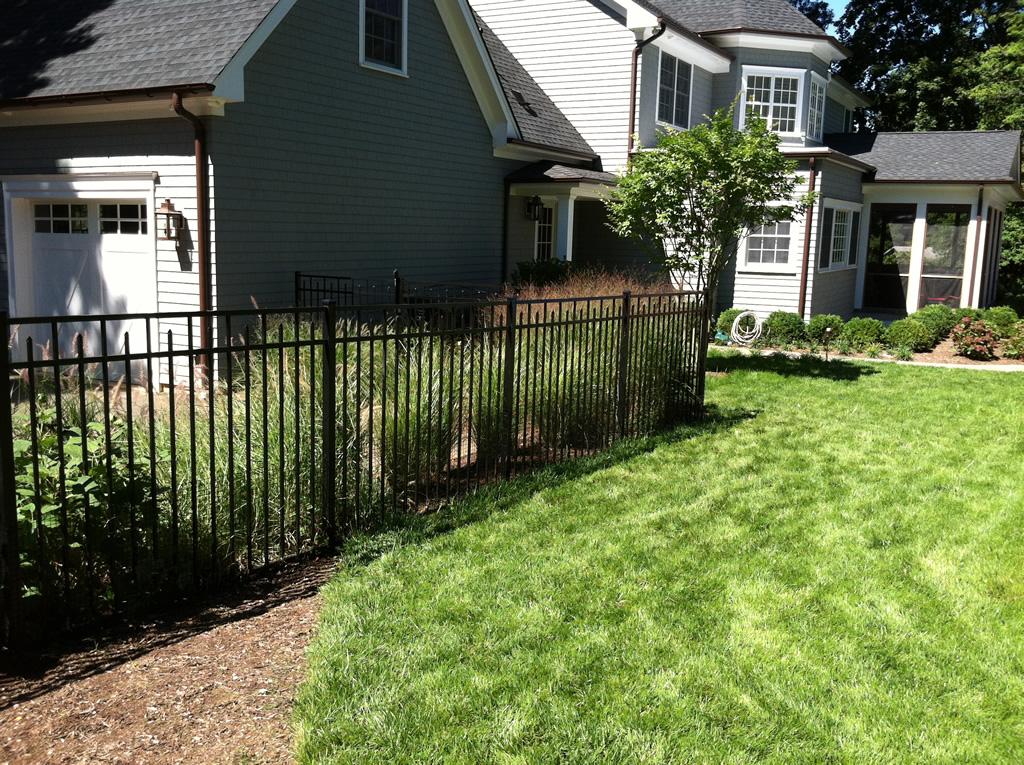 Aluminum fencing add a link fence company nj