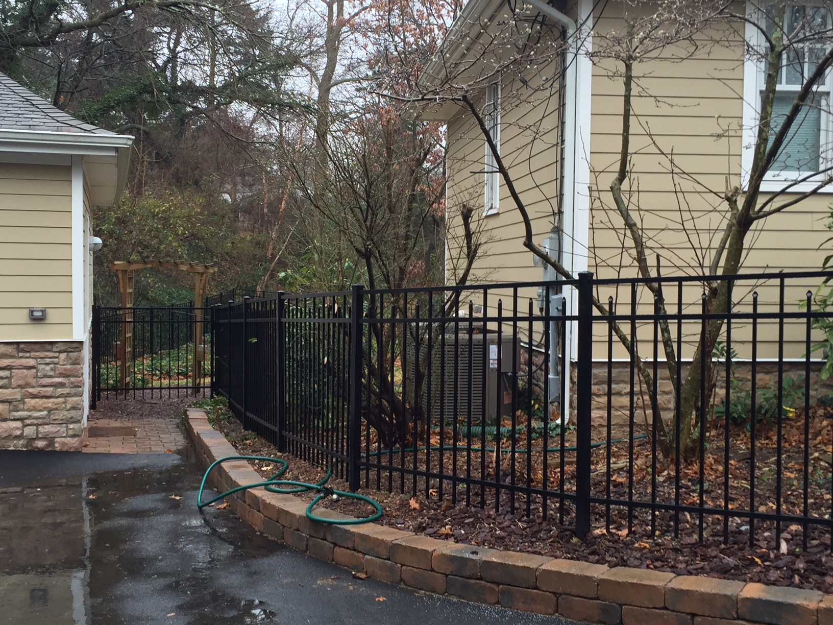 aluminum fencing add a link fence pany nj fence contractor