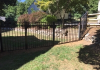 Black Jerith Style 202 Fence