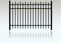 100 Aluminum Fence