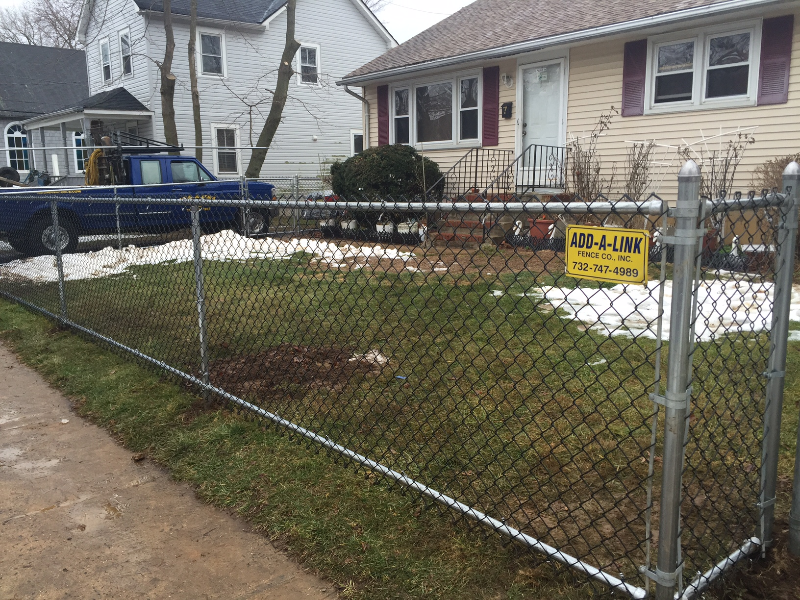chain link fencing add a link fence company nj fence contractor