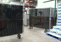 7 Foot Chain Link Rolling Gates 2