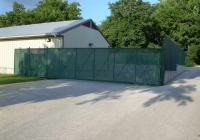 Green System Chain Link Enclosure
