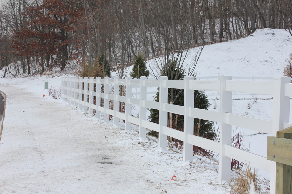 Commercial vinyl fencing is an excellent low maintenance