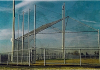 Chain Link Baseball Back Stop System