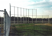 Chain Link Softball Back Stop System 2