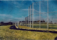 Chain Link Softball Back Stop System