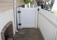 White PVC Gate