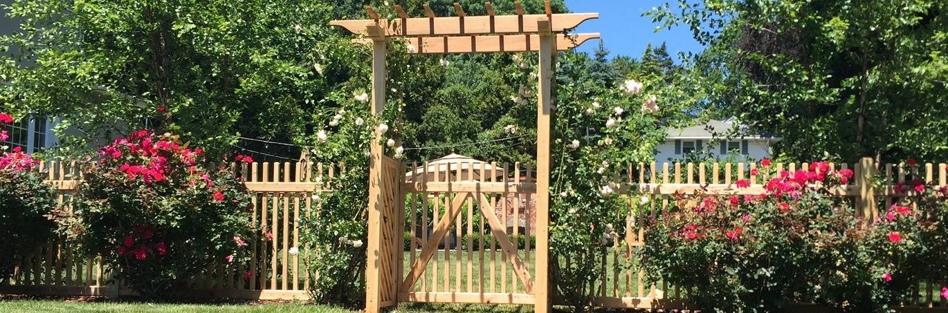picket fence gate with arbor. pergola with classic picket fence picket fence gate with arbor