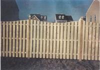 Cedar Board on Board Dowel Construction