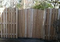 Cedar Solid Crown Gate-BoB Dog Ear