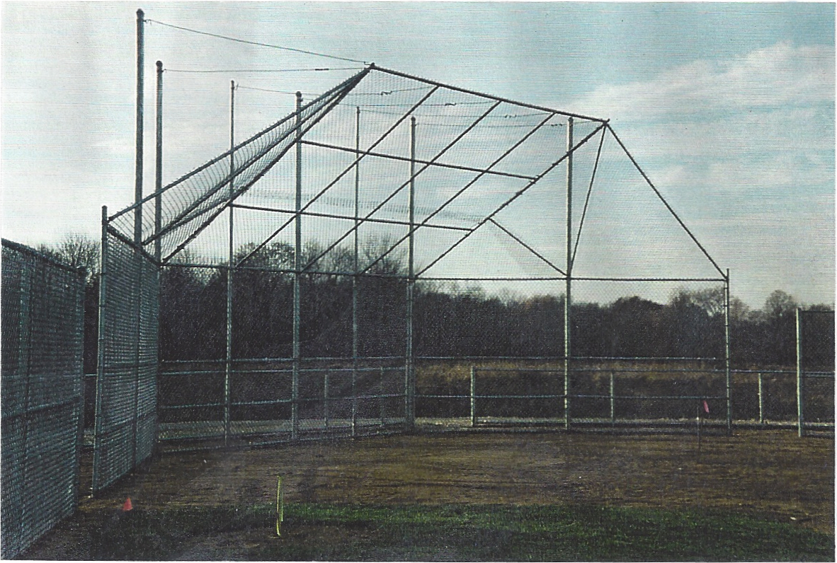 Chain Link Baseball Back Stop Fence System
