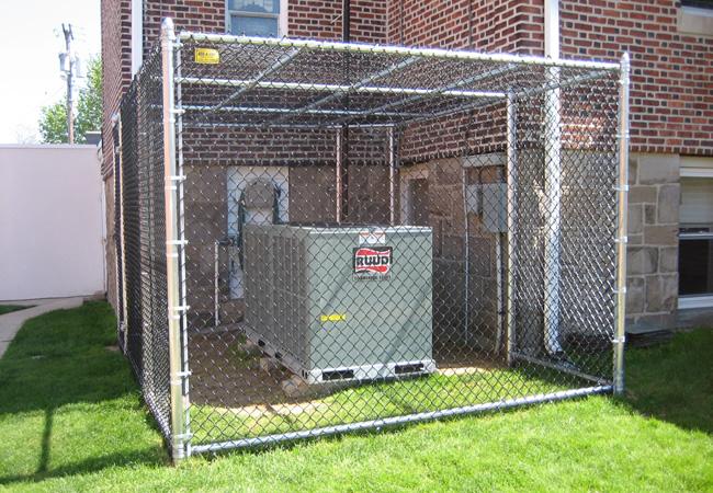 Custom Fence Enclosure
