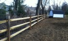 Split Rail with Welded Wire