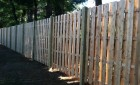 8 Foot High Cedar Board on Board Fence