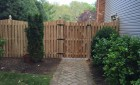 Concave Cedar Board on Board Fence