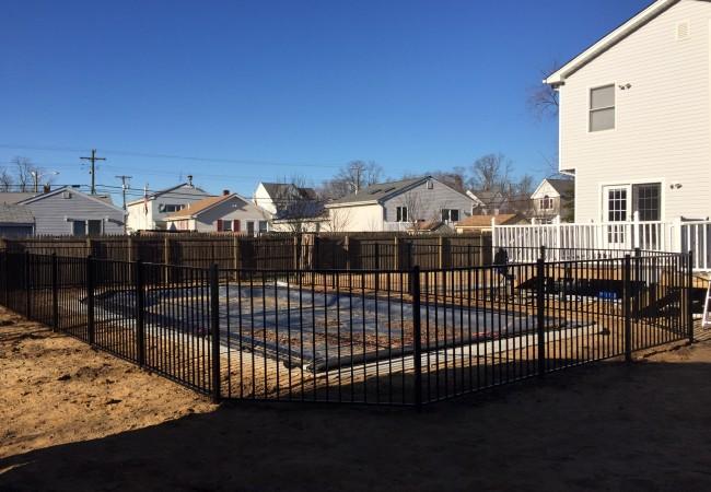 Aluminum Pool Code Fence