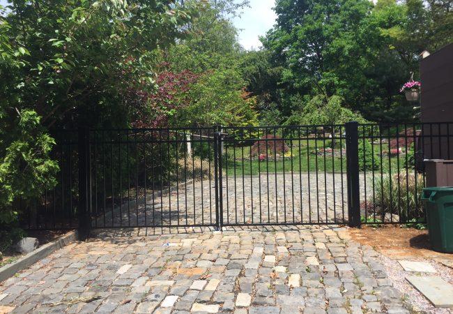Aluminum Drive Gates