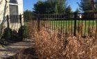 Aluminum Fence with Rainbow Gate