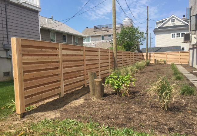 Cedar California Style Fence