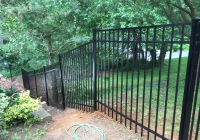 Jerith Aluminum Fence Down Hill