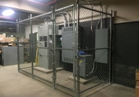 Commercial Chain Link Enclosure