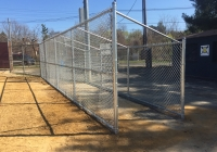Galvanized Chain Link Dugout