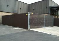 Large Dumpster Enclosure