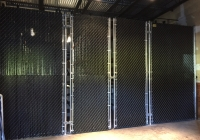 Commercial Gates with Slats