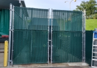 Dumpster Enclosure Gates