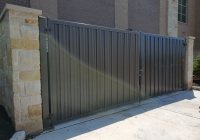 Steel Privacy Panel Enclosure Gates