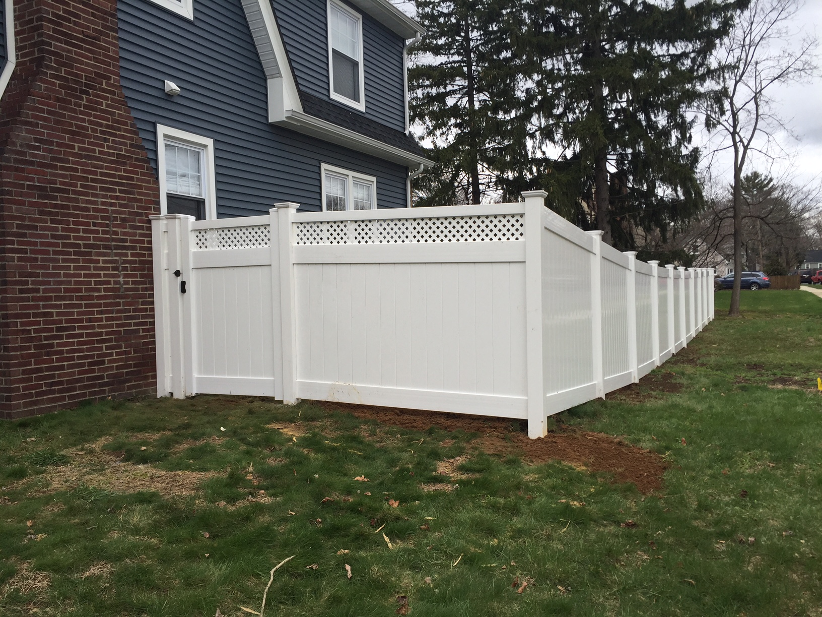 Pvc Fencing Add A Link Fence Company Nj Fence Contractor
