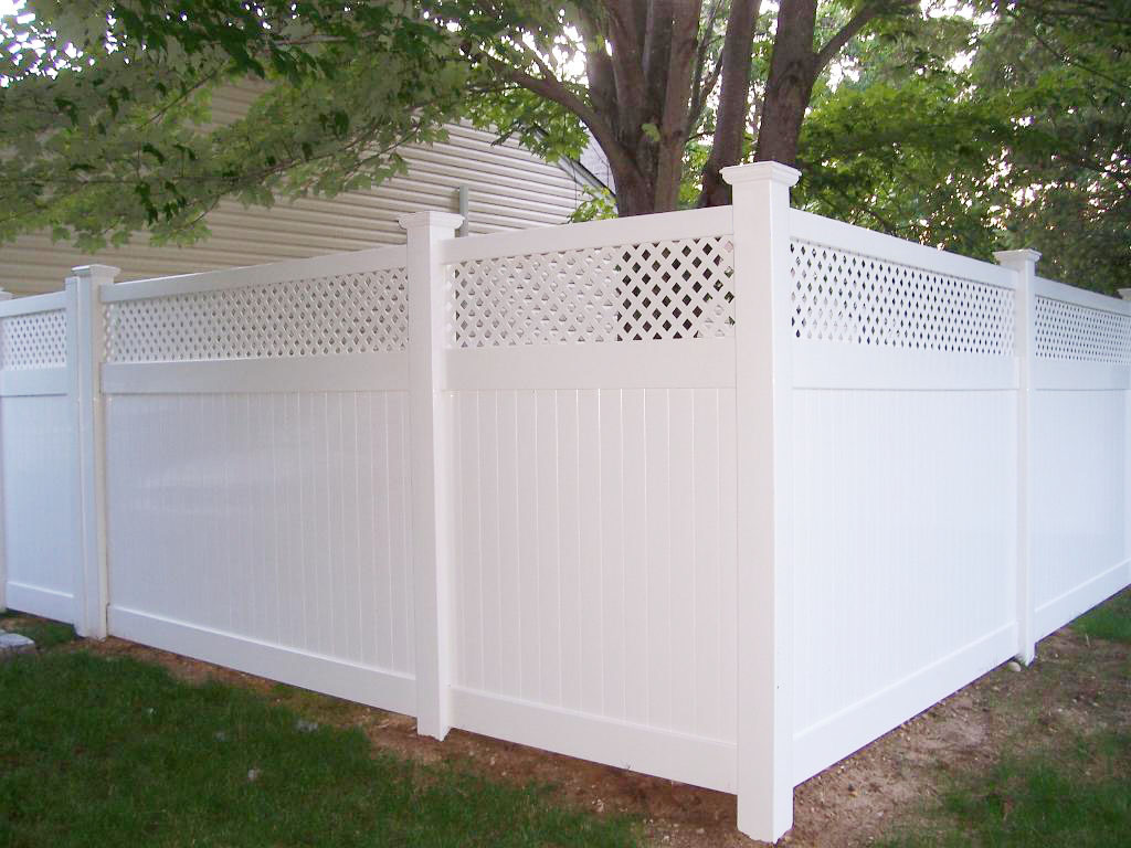 Pvc fencing add a link fence company nj contractor