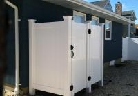 White PVC Shower 2