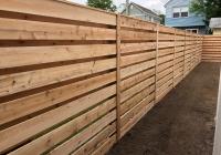 California Style Cedar Fence