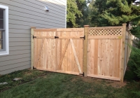 Cedar Tongue and Groove Gates