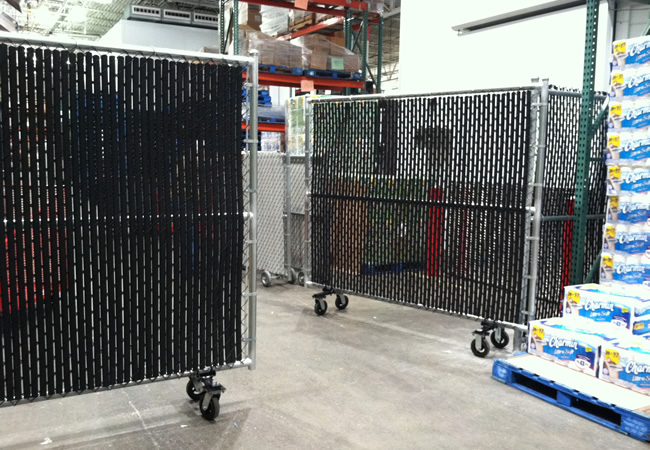 Chain Link Rolling Gates