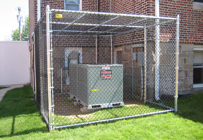 Custom Fence Enclosure