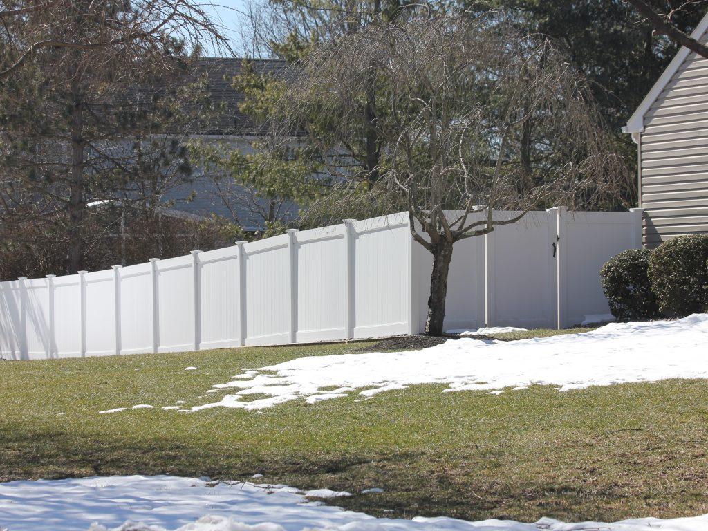 PVC Pool Code Fence