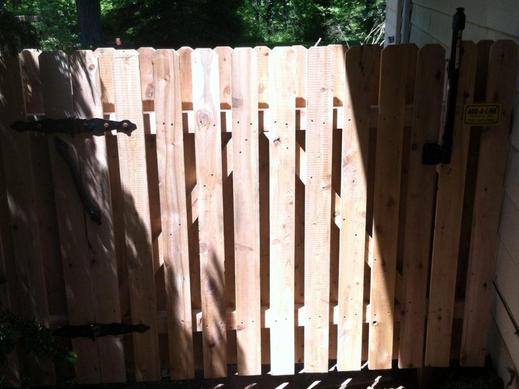 Pool Code Wood Gate