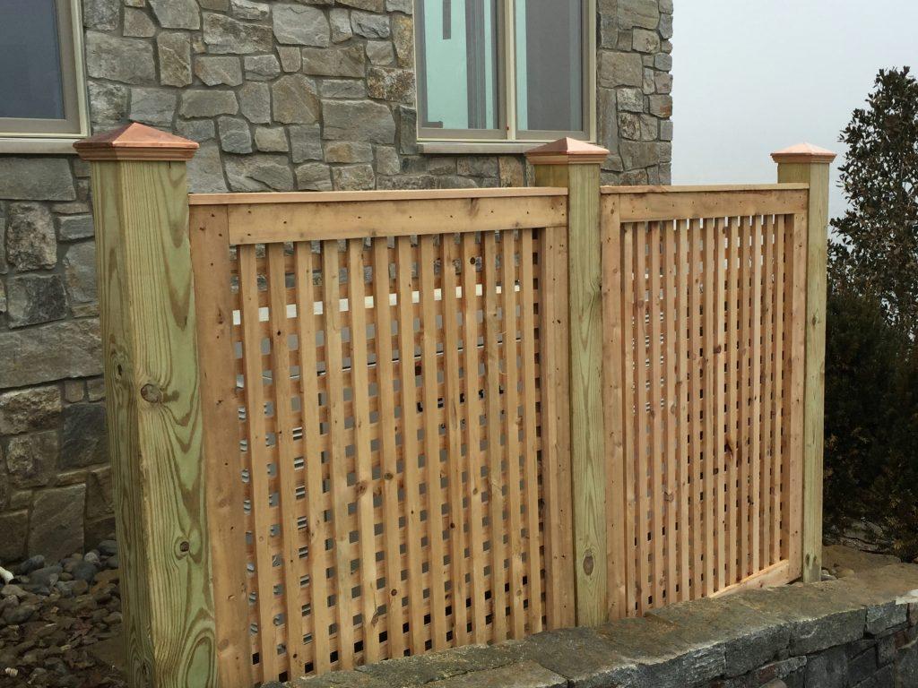 Lattice Fence Section