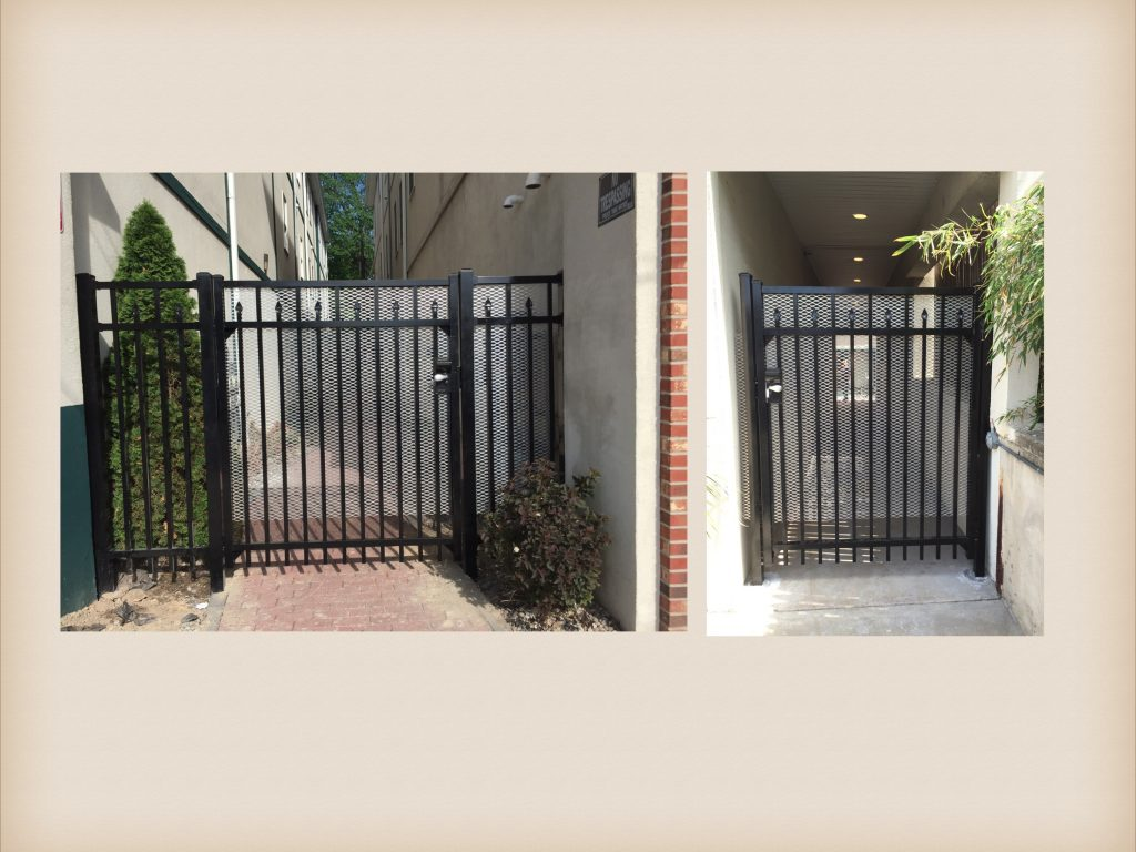 Commercial Aluminum Security Gate