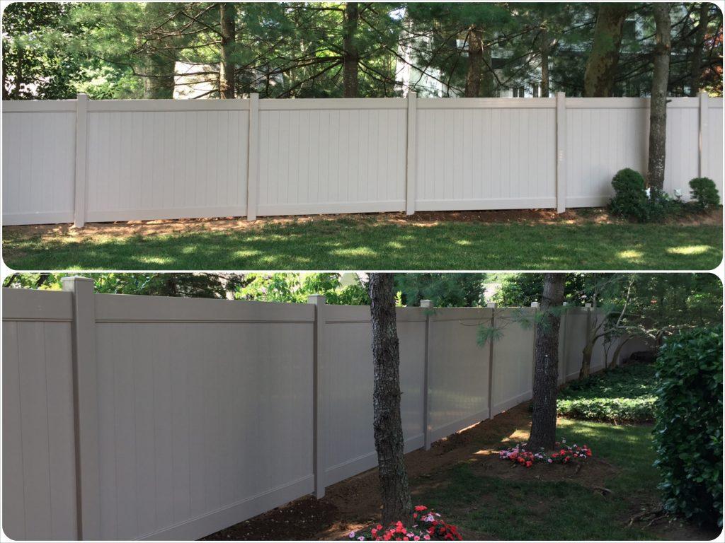 Adobe PVC Fence