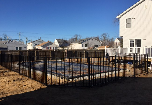 Aluminum Pool Code Fence