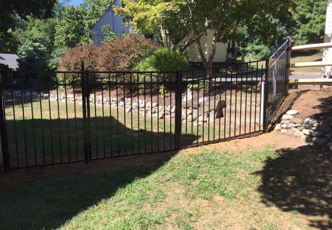 Jerith Black Style 202 Fence