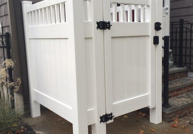 Outdoor PVC Shower