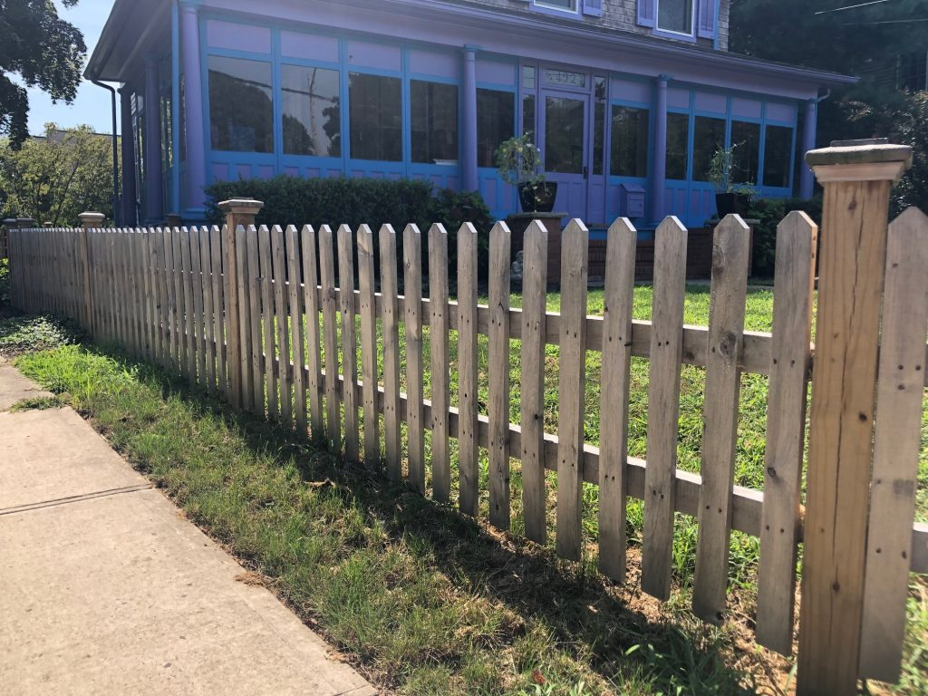 Custom Spaced Picket Cedar Fence