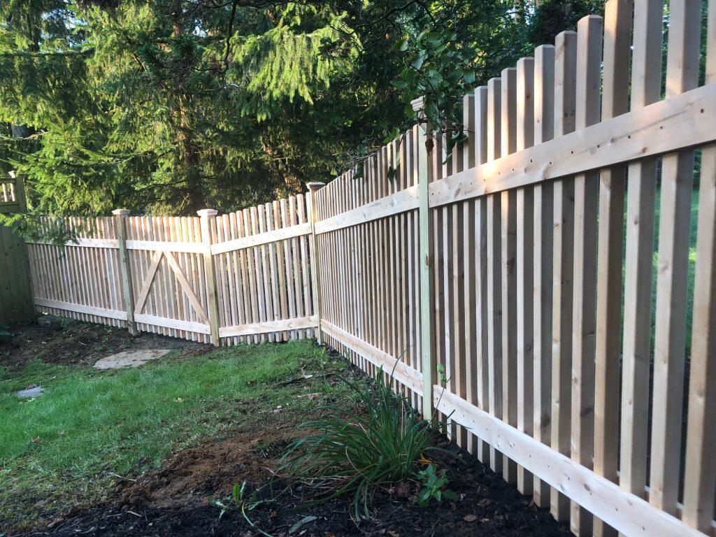 Classic Cedar Spindle Fence