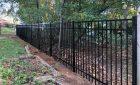 Black Jerith Aluminum Fence