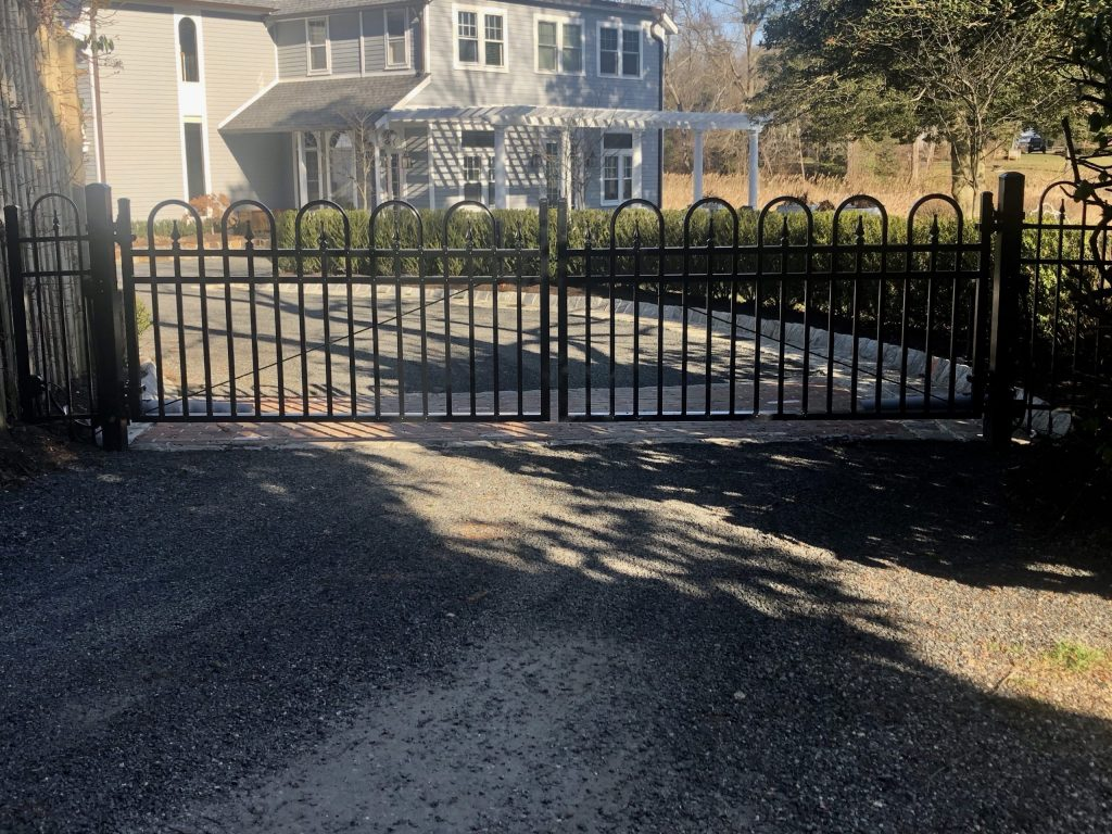Concord Style Automated Estate Gate